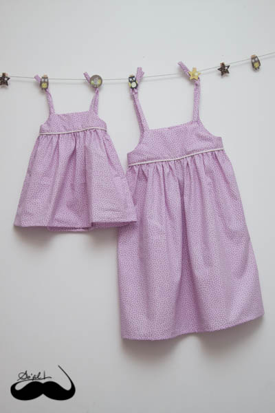 Robes assorties pour Charlotte et Mathilde sofilcreations 03