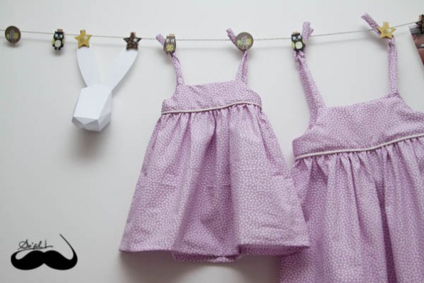Robes assorties pour Charlotte et Mathilde sofilcreations 04