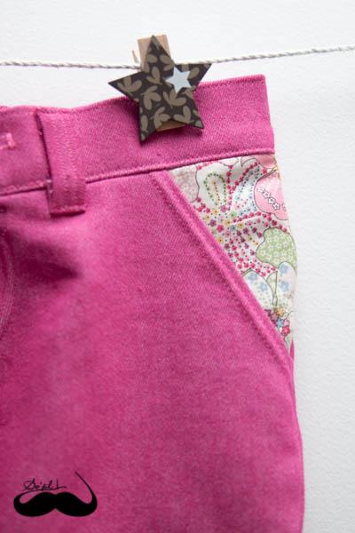 ensemble en jersey jeans et liberty pour Mathilde sofilcreations 06