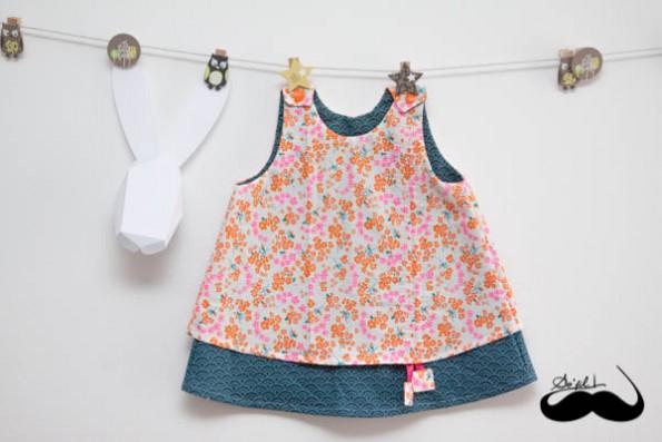 Robe d'été pour Mathilde sofilcreations 01