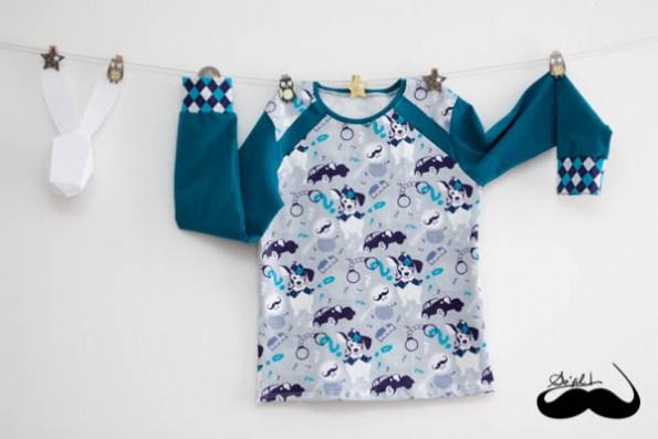 ensemble La Panda Love Fabrics pour Alban sofilcreations 01