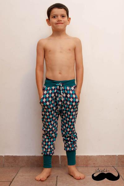 ensemble La Panda Love Fabrics pour Alban sofilcreations 04