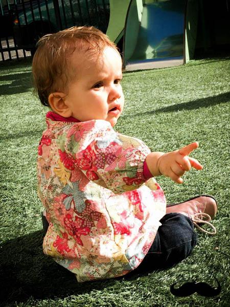 Petite blouse en mauvey sofilcreations 04