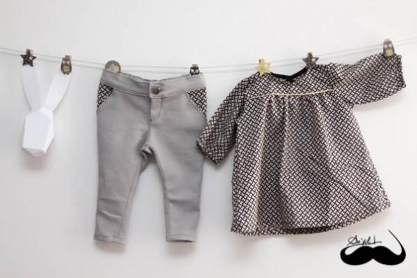 Un jeans et sa blouse assortie pour Mathilde sofilcreations 02