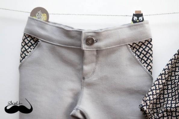 Un jeans et sa blouse assortie pour Mathilde sofilcreations 04