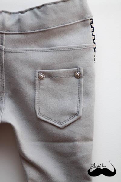 Un jeans et sa blouse assortie pour Mathilde sofilcreations 06